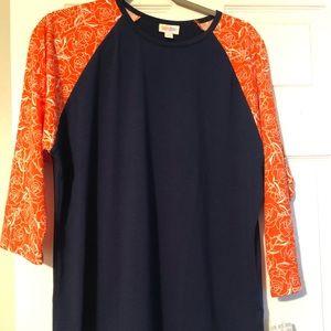 Lularoe NWT randy t shirt size 2x